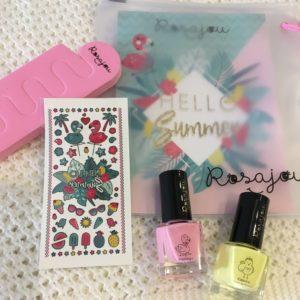 Kit de uñas SOL Rosajou
