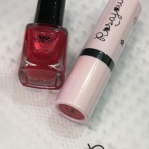 Set de maquillaje ROJO Rosajou