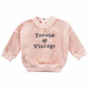 Sudadera CUORE BB Tocoto Vintage
