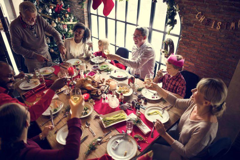 Familia Cominedo en Navidad Mi Corazon es Suyo