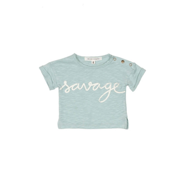 Camiseta SAVAGE Message in the Bottle