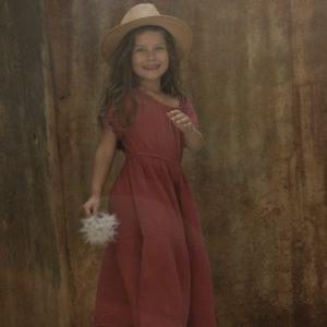 Vestido ELLA Grana Thula