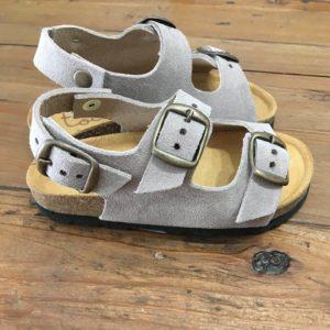 Sandalia TIED BIO GRIS Tocoto Vintage