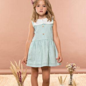 Vestido VICHY Rose Le Petit Blossom