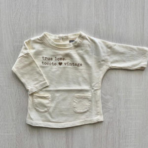 Camiseta TRUE LOVE BB Tocoto Vintage 3