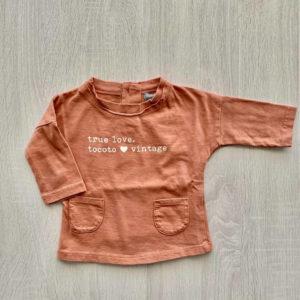 Camiseta TRUE LOVE PINK BB Tocoto Vintage 3