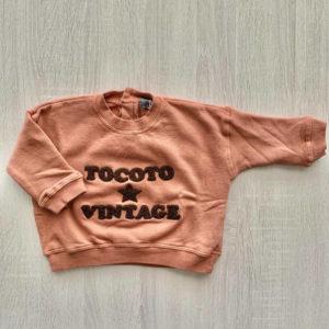 Sudadera ESTRELLA BB Tocoto Vintage 2