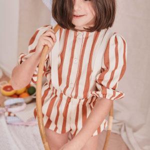 Blusa TOFFFEE Rayas Minabay Kids