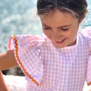 Blusa Vichy CLEMENTINA Minabay Kids