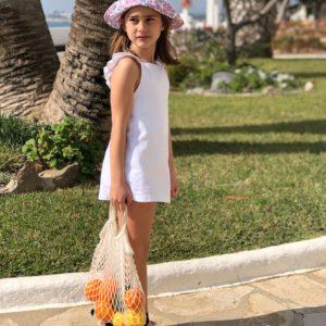 Pichy Blanco Mini VOLANTES Minabay Kids