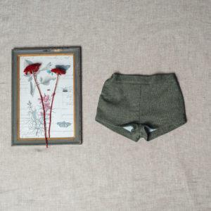 Pantalón Corto Saco Verde Birinit Petit